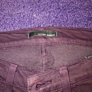 Purple Flying Monkey skinny jeans
